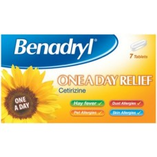 Benadryl Allergy Relief One a Day x7