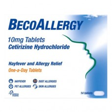 Beco Allergy 10mg Tablets x14