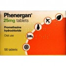 Phenergan 25mg Tablets x56
